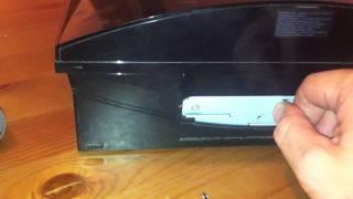 Tutorial sobre cómo cambiar el disco duro de la PS3
