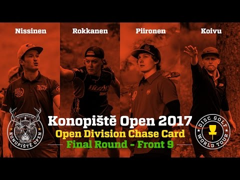 2017 Konopiště Open Chase Card Final Round Front 9 (Nissinen, Rokkanen, Piironen, Koivu)