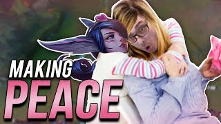 HELP? I DON'T NEED NO HELP! | MAKING PEACE WITH THE ENEMY TEAM! - Trick2G