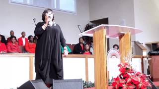 Hoilday Choir Concert  - Chrystal Rucker - If it Had Not Been