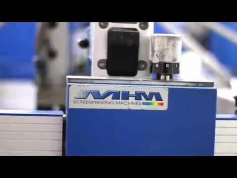 Screen Printing on Y&S Eco Soft by BMS Graphics   YouTube