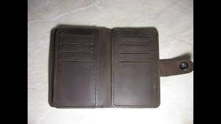Бумажник, сделанный по фото/Wallet made by photo
