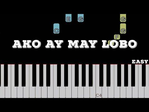 Ako Ay May Lobo   Easy Piano Tutorial (Arranged By Heide Abot)