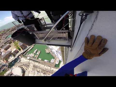 Spinnaker Tower Abseil - GoPro Hero 3+