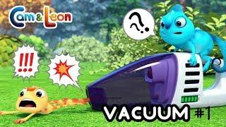 Cam & Leon | Vakuum #1 | Lustige Cartoon | Karikatur für Kinder