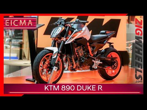 KTM 890 Duke R   The Street Triple RS Beater?   EICMA 2019
