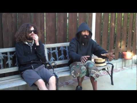 Gonjasufi and The Gaslamp Killer - Dazed & Confused Interview (clip)
