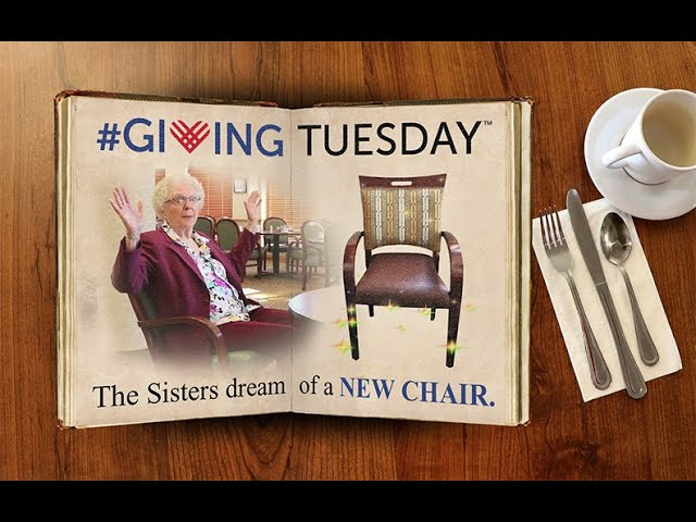 This Chair is Just Right! Giving Tuesday 2017