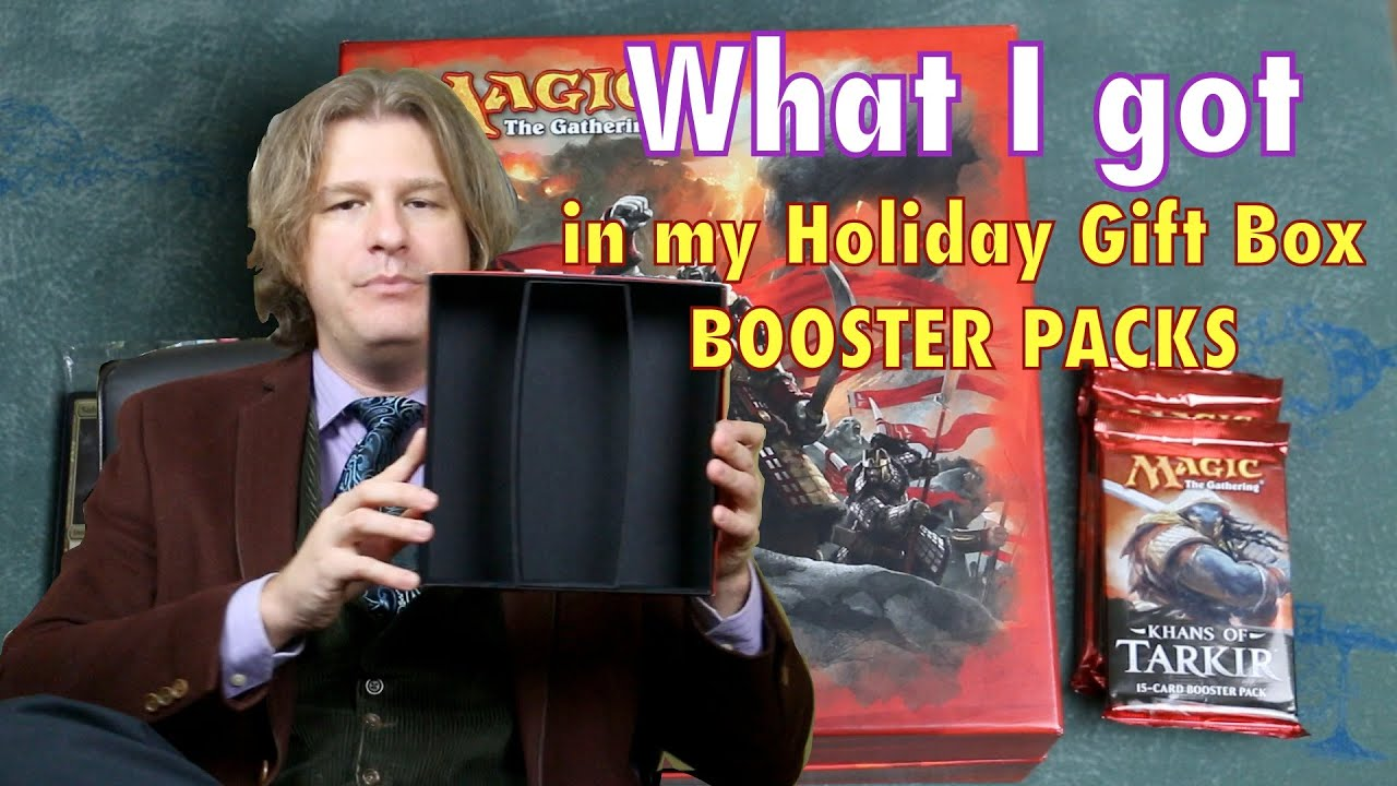 MTG - What I got in my Khans of Tarkir Holiday Gift Box Booster ...