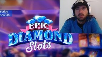 EPIC DIAMOND SLOTS Casino Free Vegas Slot Machines | Android / iOS Game | Youtube YT Gameplay Video
