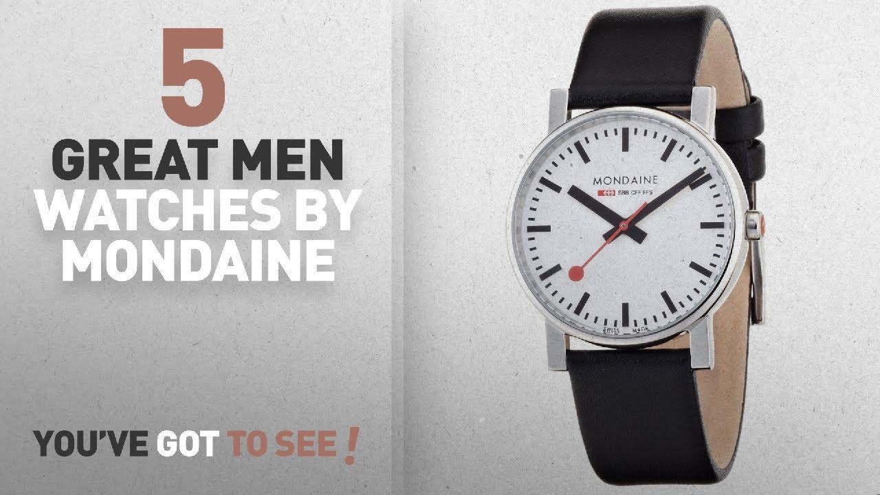Top 10 Mondaine Men Watches   Winter 2018    Mondaine Men s A658 ... 03063cbf98