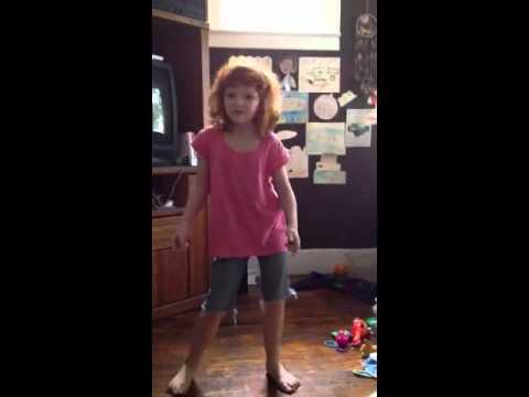 She has moves like Elvis Presley ... Lol