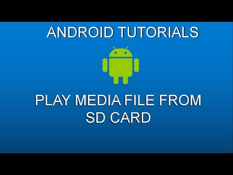 How to display audio file from sdcard using ListView(Nougat and marshmello)