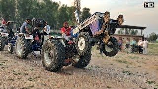 744 Breakan Fail Group || testing tractor for touchan 2 Farmtrac VS swaraj 744 Breakan fail aaaa
