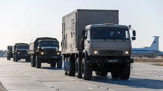 Вместе против вируса: российские военные продолжают марш по Италии