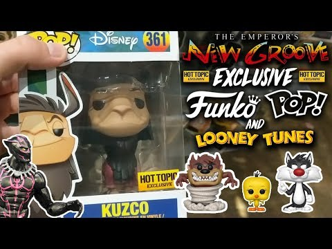 Disney Exclusive Kuzco and Looney Tunes Funko Pop Hunt