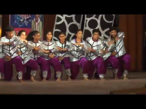 Urban and Bharatnatyam on Hey Ganray (ABCD 2) choreograph by Mystic moves dance st.