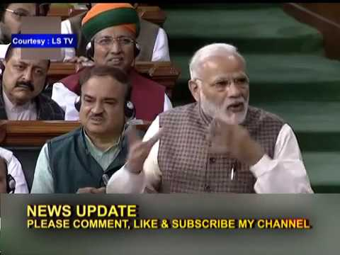 PM Modi Rips Into Congress: From Partition To Dynasty, In LS Speech 07/02/18
