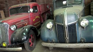 A farmer's collection of cool barn find cars and trucks