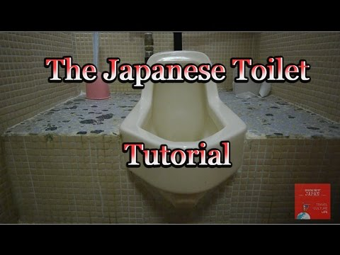 How To Use A Japanese Style Toilet - SFW