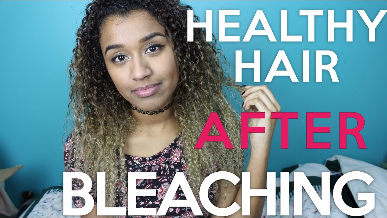 How To Keep Your Hair Healthy After Bleaching Dyeing Offbeatlook