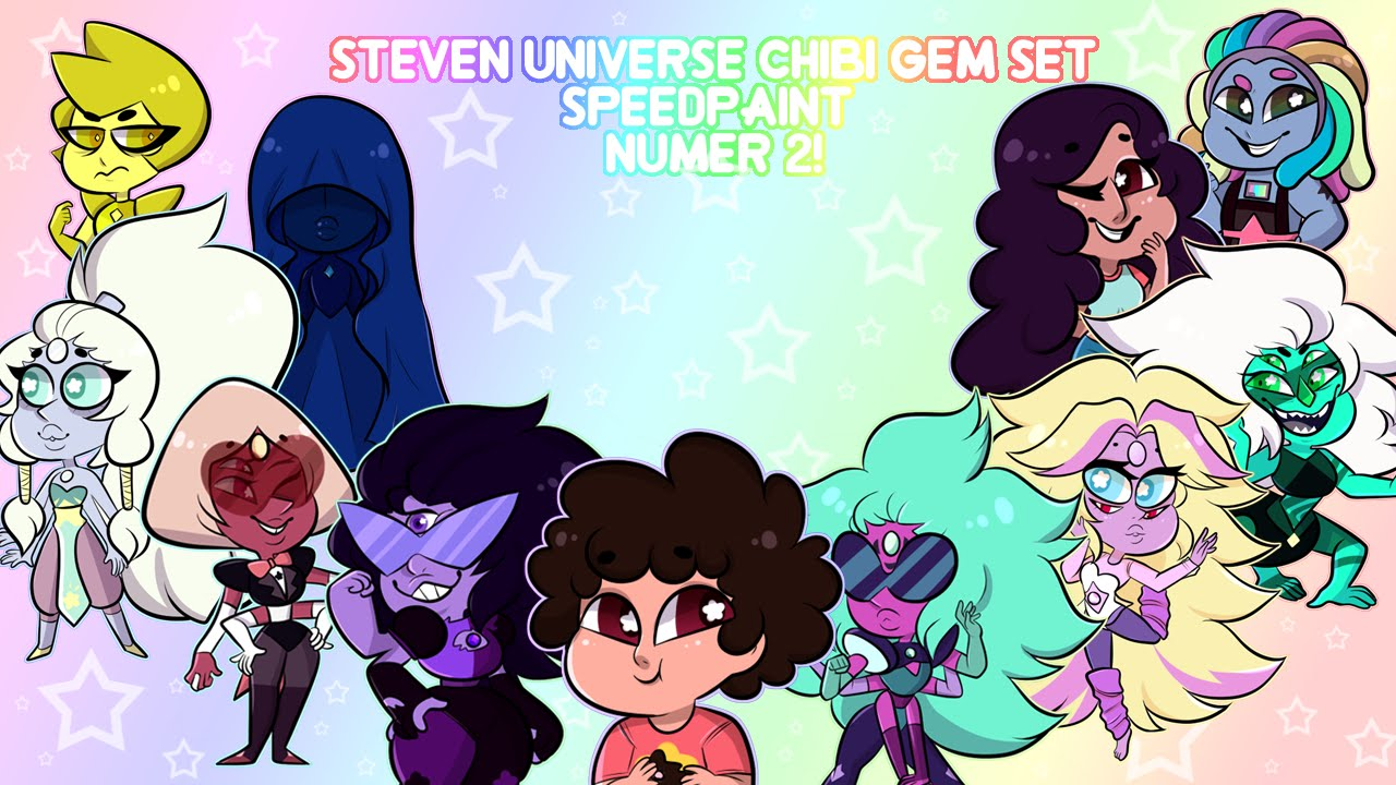 Cute Steven Universe Wallpaper Steven Universe Chibi Set 2 Speedpaint Youtube