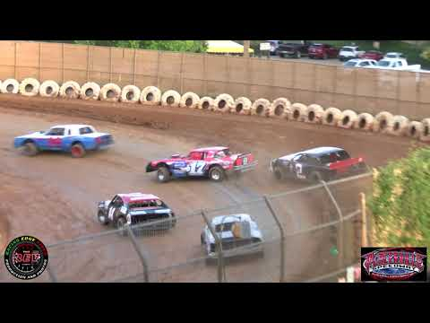Placerville Speedway June 8th, 2019 Pure Stocks Main Highlights