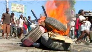 Haiti protests over UN presence and government