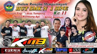 Live HUT SMK N 1 SINE || KMB MUSIC || KURNIA SOUND || 16 Desember 2019