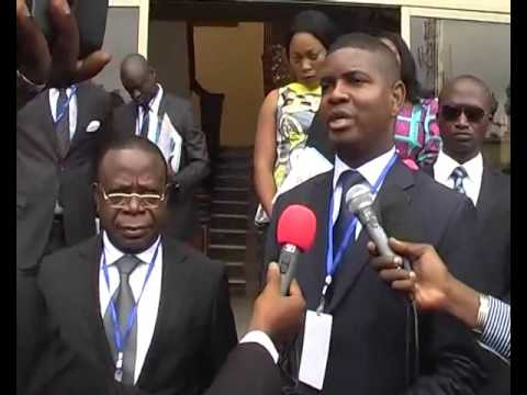 CLEANMAG OIL SPILL CLEANUP : PRESS CONFERENCE of Minister of Environment at BEATRICE Hotel-