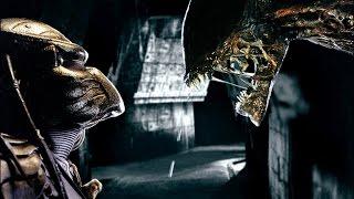 6分钟看懂惊悚恐怖片《异形大战铁血战士》怪物的相爱想杀