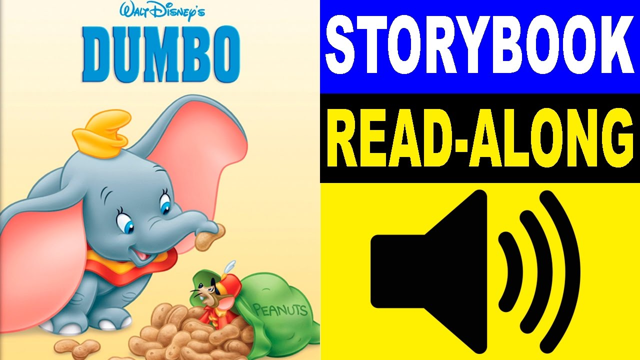 Dumbo Read Along Story Book Dumbo Storybook Read