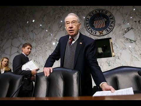 Grassley blasts working class for spending on booze, women, and movie