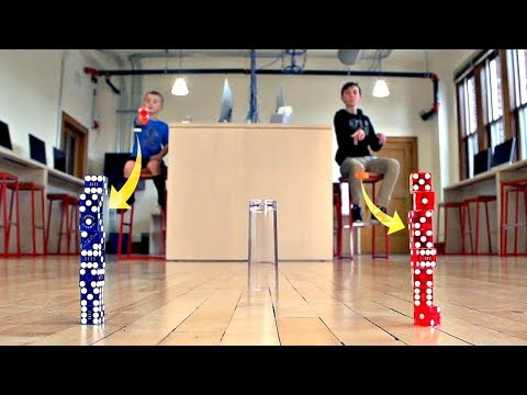 Dice Stacking and Trick Shots | That's Amazing and Trick Shot Titus
