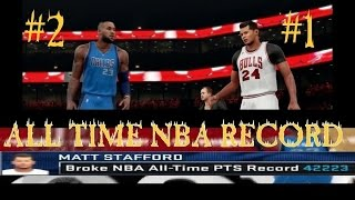 BREAKING THE NBA ALL TIME CAREER SCORING RECORD| R2K FINALE