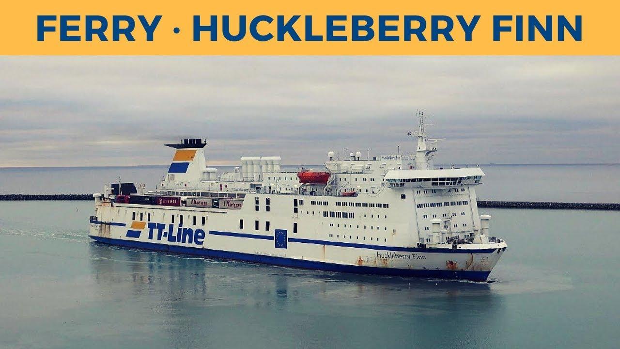MS Huckleberry Finn Magnet Fährschiff Fähre Schiff,Polyresin,Souvenir Maritim