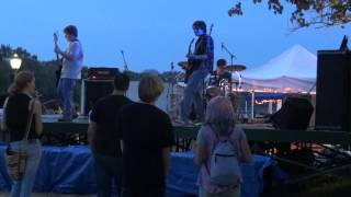 Riverfest 2012 Vash the Stampede Band performing Springsteen Song LIVE on Coup Stage (09-07-2012)