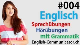 #4 Englisch grammatik für Anfänger Deutsch English Sprachkurse  Wie,Win,Zur,Buch, Chat,Deutschland,