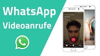WhatsApp startet mit Videotelefonie! So funktioniert das neue Feature