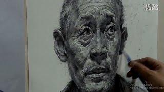 Portrait Drawing in Pencil : Old man Portrait #03