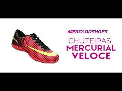 deff88e8c2 Chuteiras Nike Mercurial Veloce