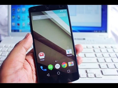 How to Install Android L on Google Nexus 5
