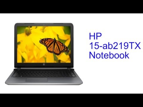 HP 15-ab219TX Notebook Specification [INDIA]