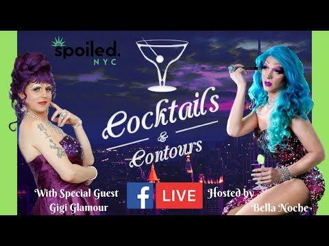 CocktailsAndContours w Gigi Glamour