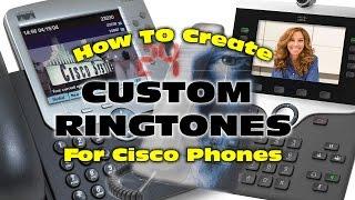 كيفية إنشاء نغمات رنين مخصصة Cisco IP الهواتف - استخدام الجرأة (البرمجيات الحرة)