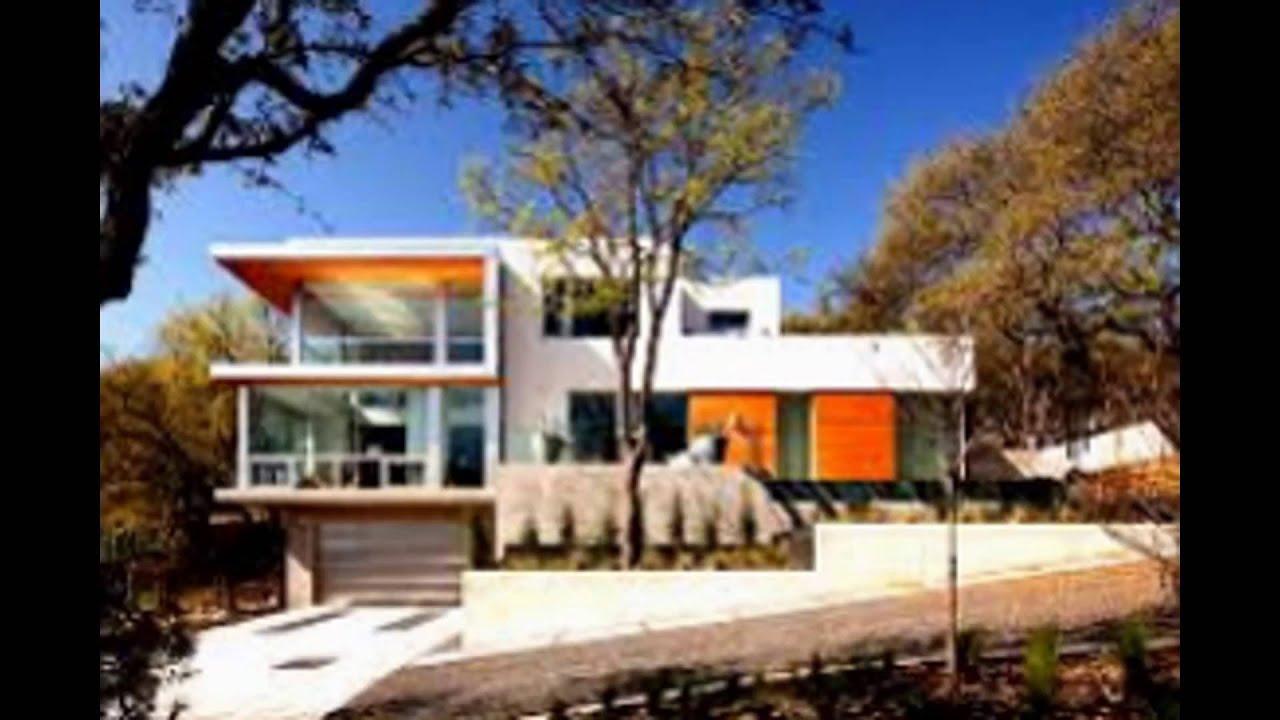 Современное строительство жилых домов. Современные дома в стиле хай-тек.