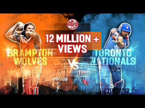 Toronto National vs Brampton Wolves   Match 12 Highlights   GT20 Canada 2019