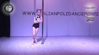 Aurora Catalani | Italian Pole Dance contest 2017 - Lunedì 17 Aprile