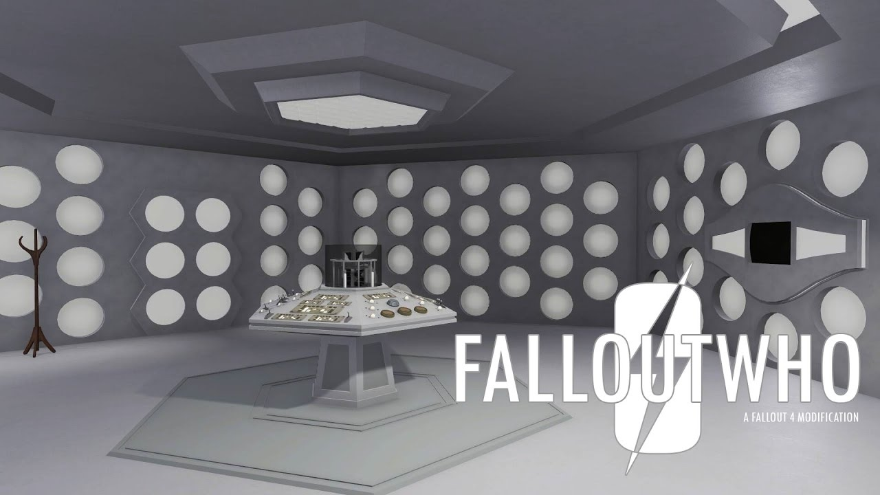 fallout who 1 0 - fallout 4  u0026 doctor who collide