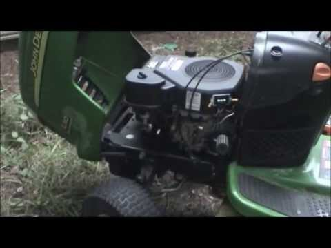 John Deere L110 Charging System Repair (ReUploaded)  YouTube